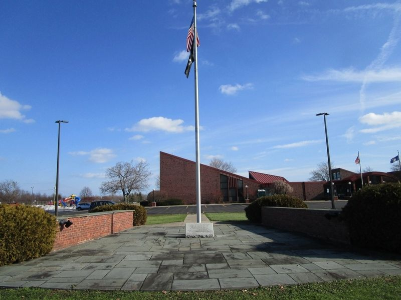 Town of Parma Veterans Memorial image. Click for full size.