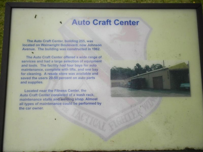 Auto Craft Center Marker image. Click for full size.