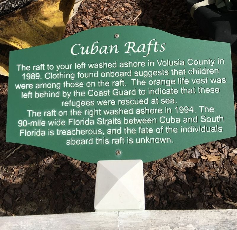 Cuban Rafts Marker image. Click for full size.