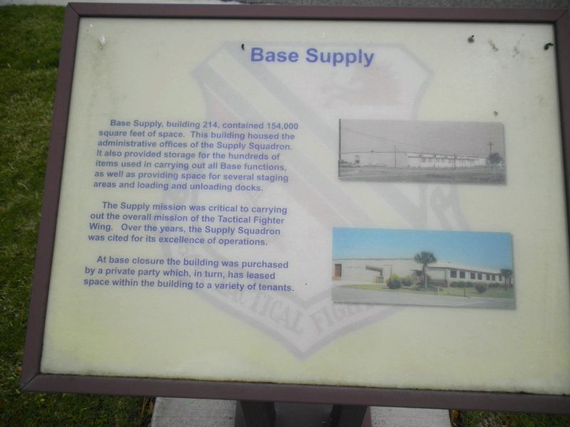 Base Supply Marker image. Click for full size.