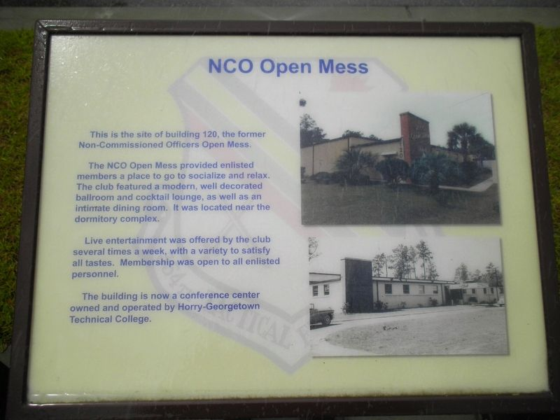 NCO Open Mess Marker image. Click for full size.