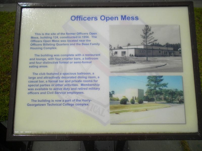 Officers Open Mess Marker image. Click for full size.