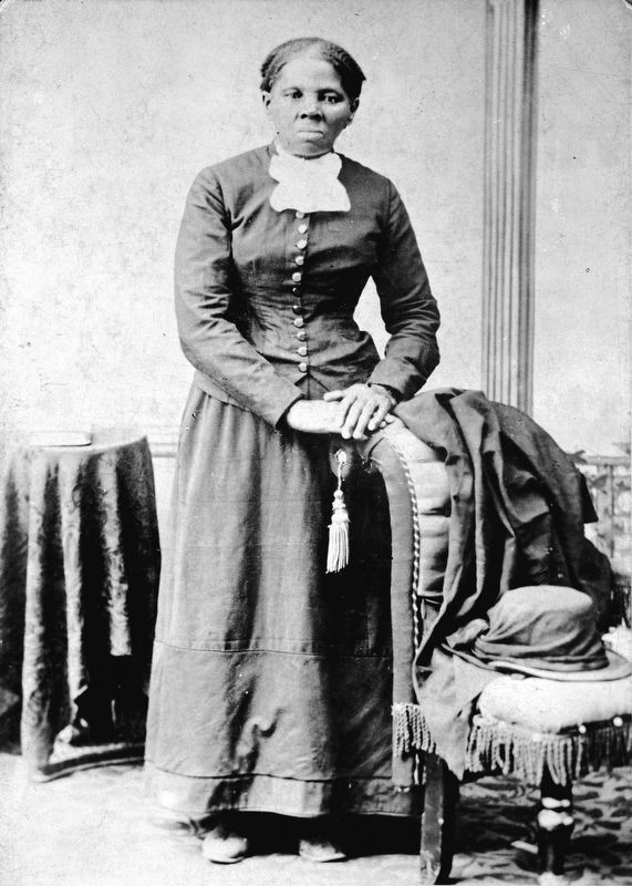 Harriet Tubman image. Click for full size.