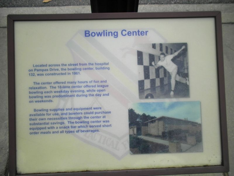 Bowling Center Marker image. Click for full size.