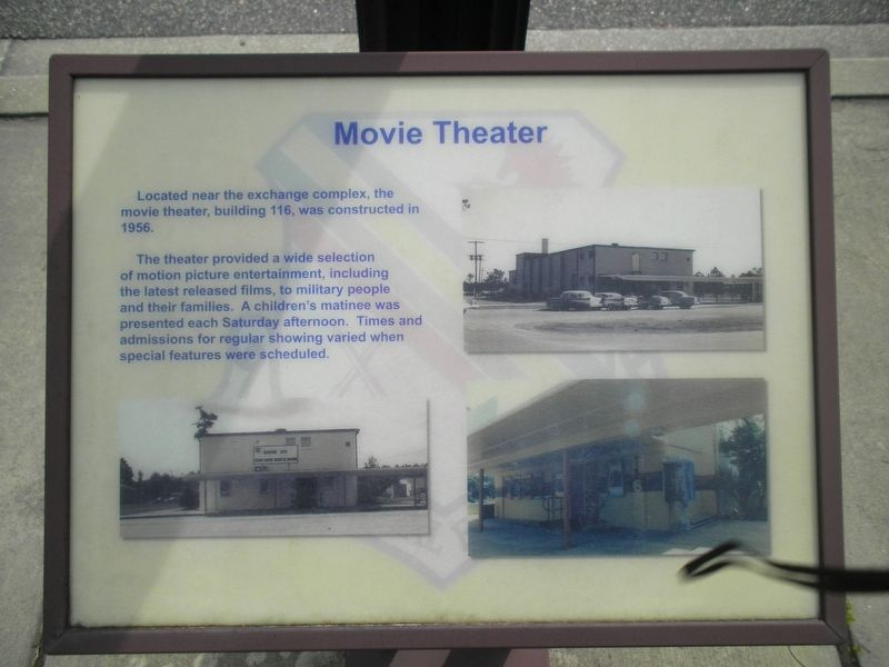 Movie Theater Marker image. Click for full size.