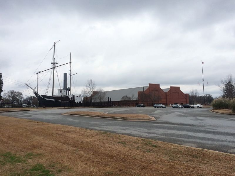 A wide view of the National Civil War Naval Museum image. Click for full size.