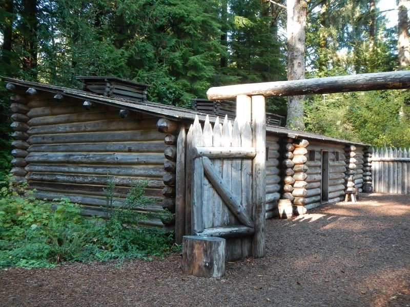 Fort Clatsop replica image. Click for full size.