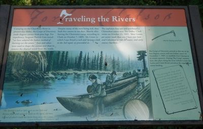 Traveling the Rivers Marker image. Click for full size.