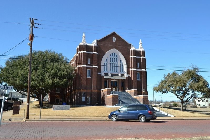 First United Methodist Church of Eastland image. Click for full size.