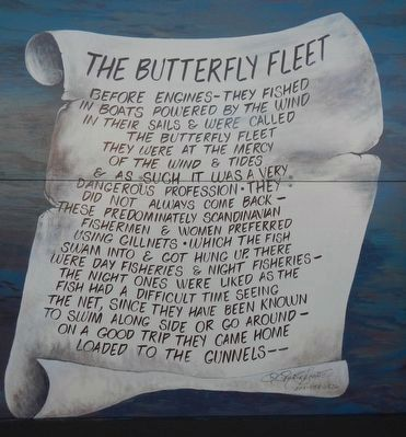 The Butterfly Fleet Marker image. Click for full size.