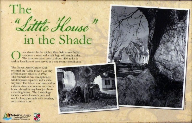 "The ""Little House"" in the Shade Marker image. Click for full size."