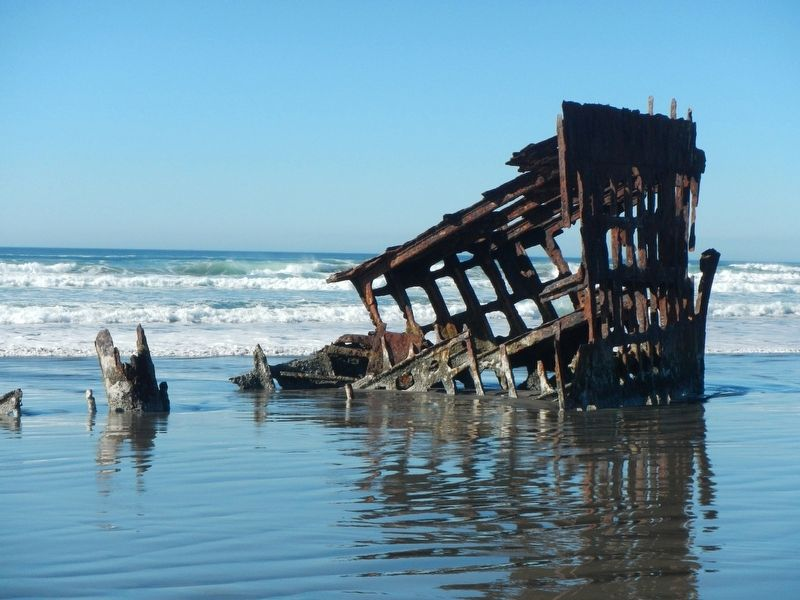 The Wreck of the <i>Peter Iredale</i> image. Click for full size.