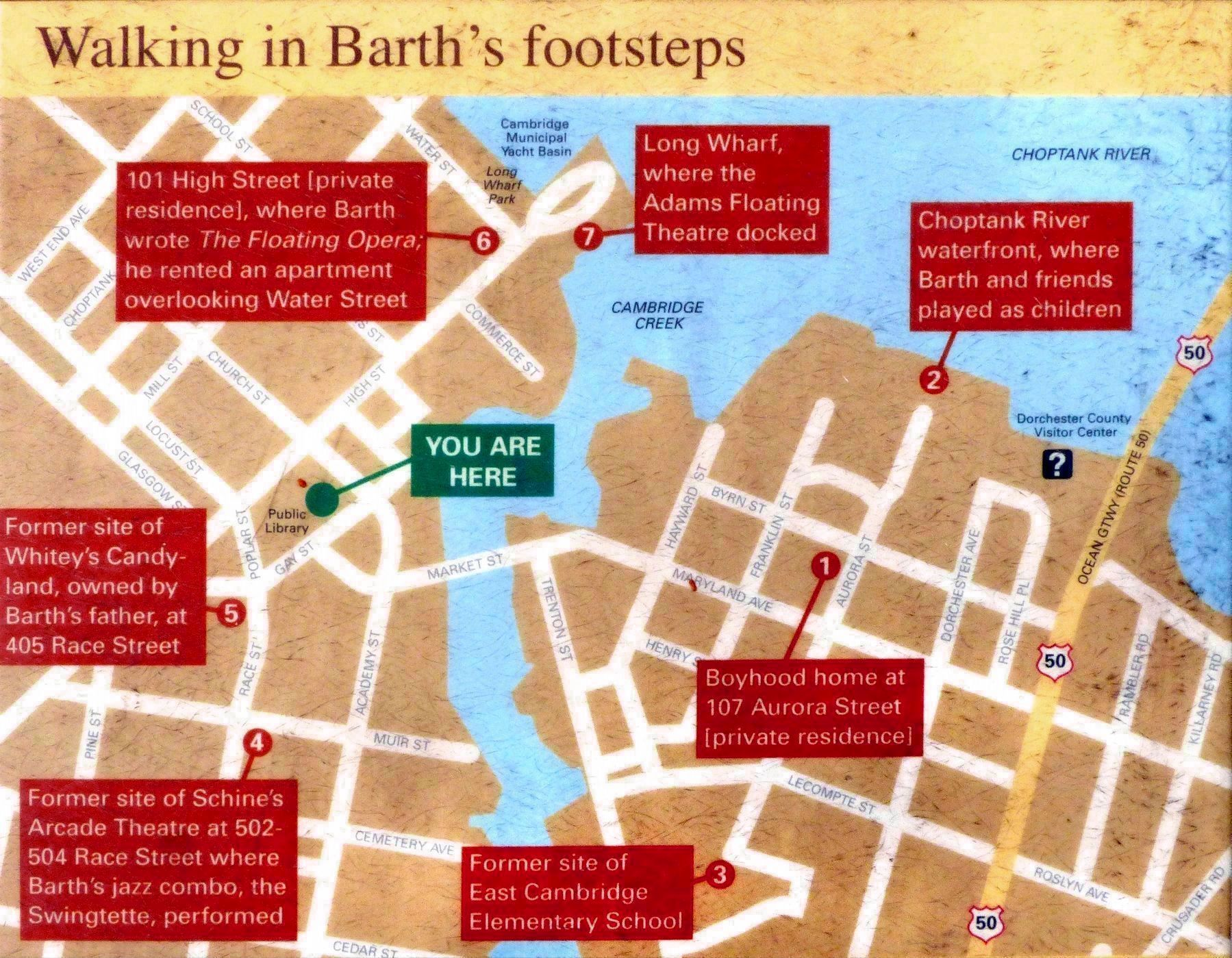 Walking in Barth's Footsteps image. Click for full size.