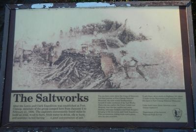 The Saltworks Marker image. Click for full size.