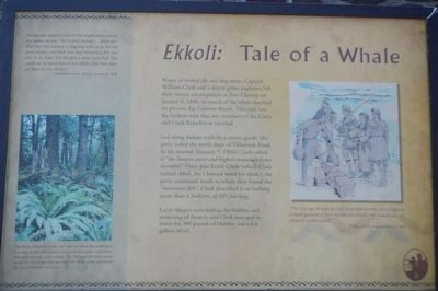 <i>Ekkoli:</i> A Whale of a Tale Marker image. Click for full size.