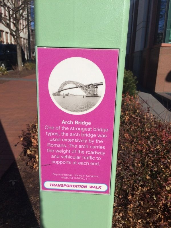Arch Bridge Marker image. Click for full size.