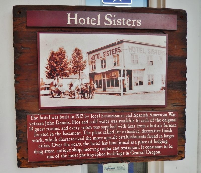 Hotel Sisters Marker image. Click for full size.