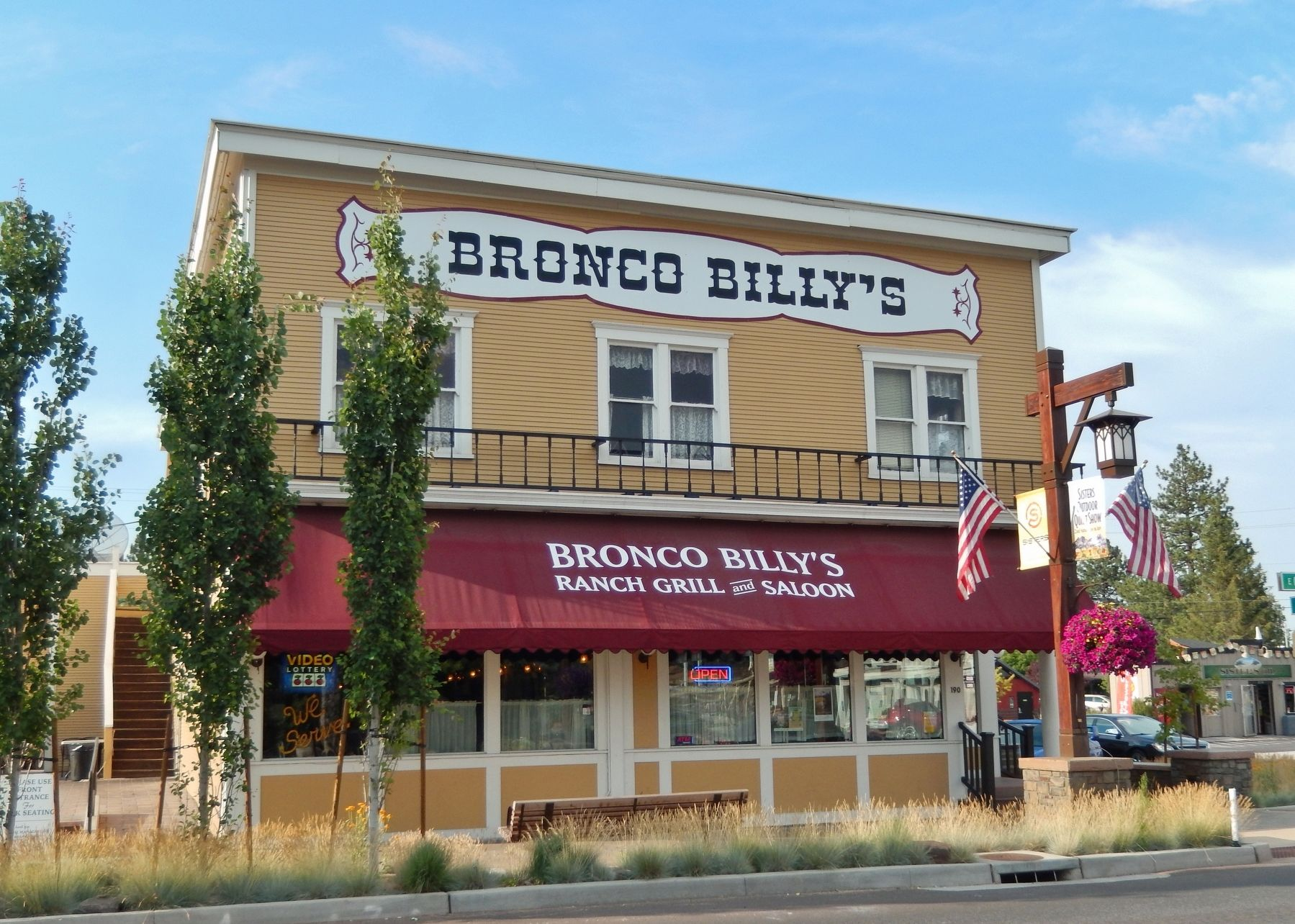 Bronco Billy's Ranch Grill (formerly Hotel Sisters) image. Click for full size.