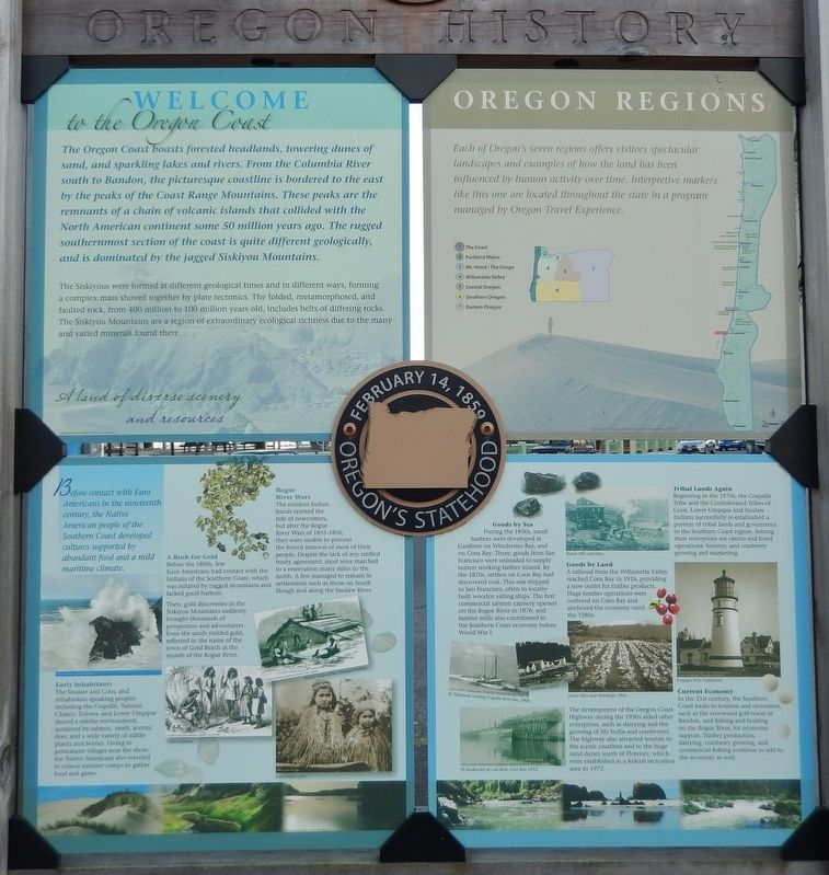 Welcome to the Oregon Coast Marker image. Click for full size.
