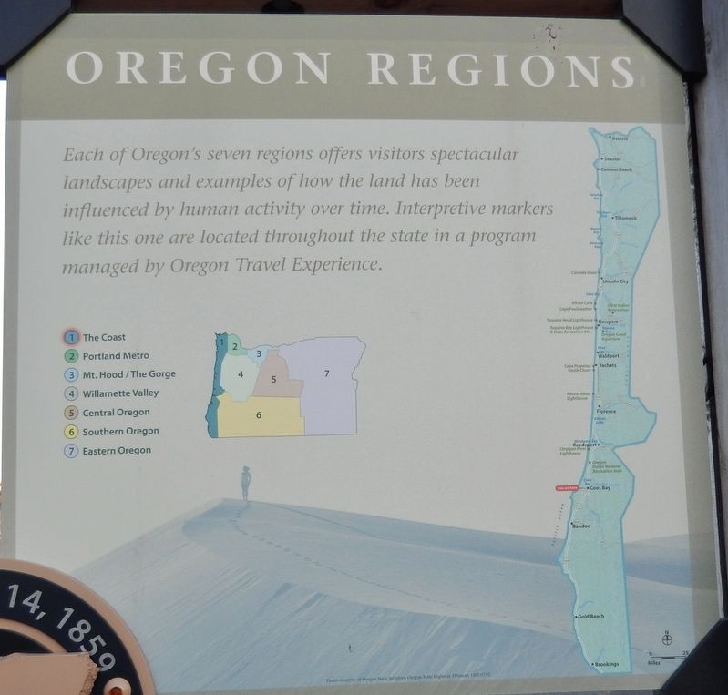 Welcome to the Oregon Coast Marker <i>Panel 2</i> image. Click for full size.