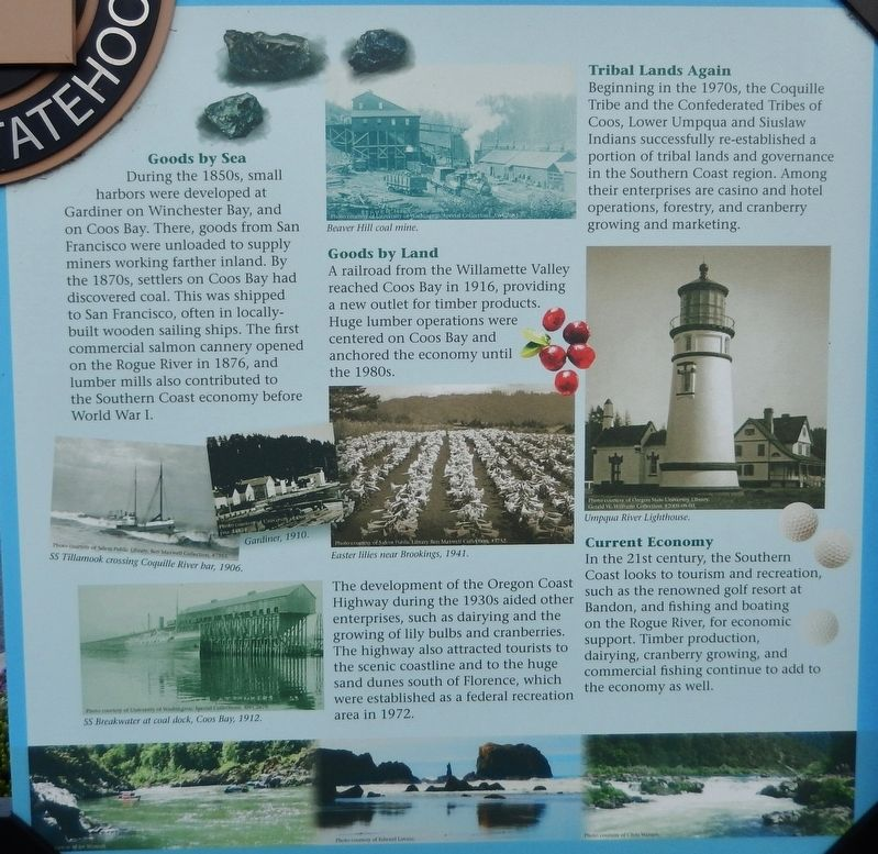 Welcome to the Oregon Coast Marker <i>Panel 4</i> image. Click for full size.