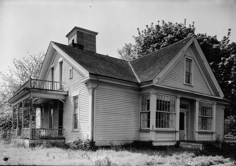<i>James W. Nesmith House, Rickreall, Polk County, OR</i> image. Click for full size.
