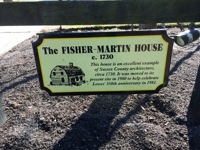 The Fisher-Martin House Marker image. Click for full size.