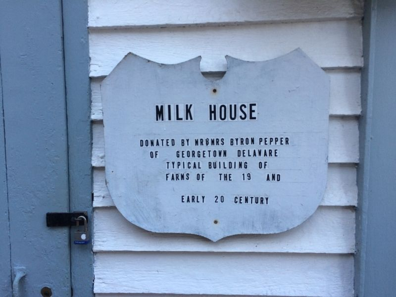 Milk House Marker image. Click for full size.