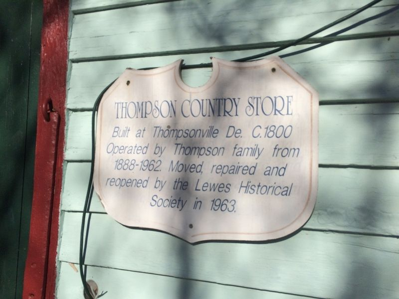 Thompson Country Store Marker image. Click for full size.