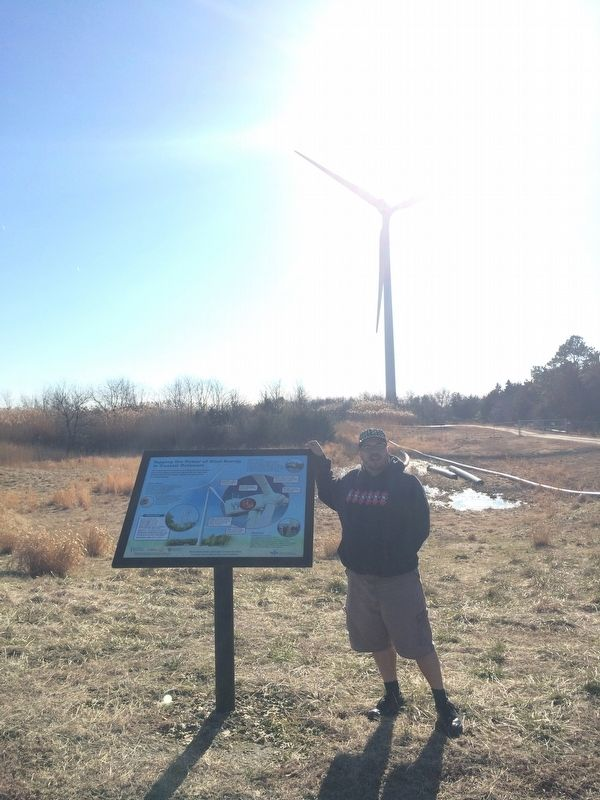 Tapping the Power of Wind Energy in Coastal Delaware Marker image. Click for full size.