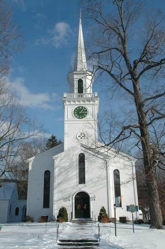 The First Presbyterian Church of Cooperstown, NY image. Click for full size.