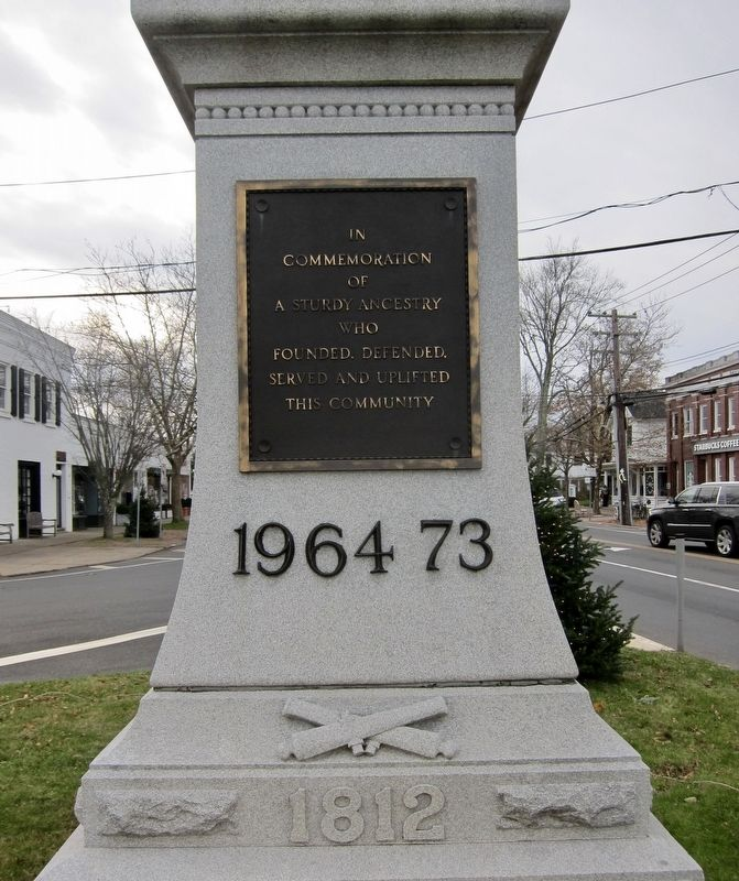 Bridgehampton Founders Monument Marker - Side 4 image. Click for full size.