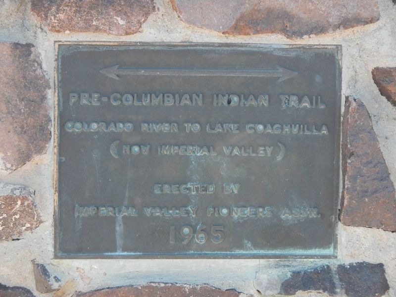 Pre-Columbian Indian Trail Marker image. Click for full size.