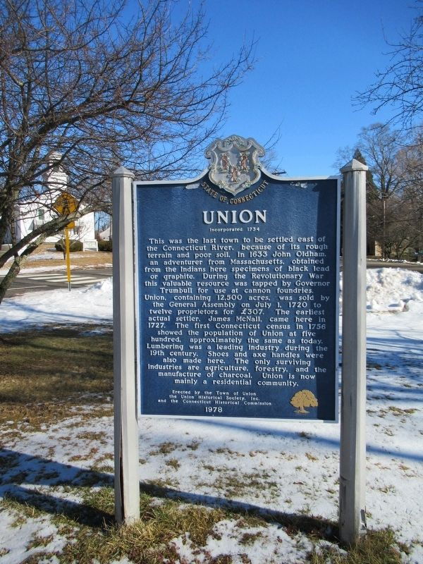 Union Marker image. Click for full size.