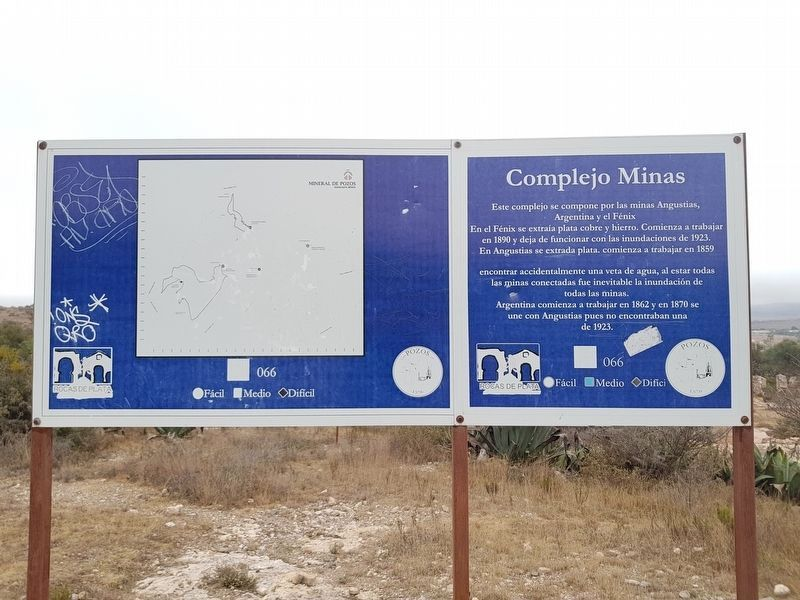 An additional marker on the Angustias Mine and other nearby mines image. Click for full size.