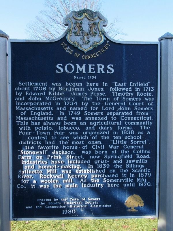 Somers Marker image. Click for full size.