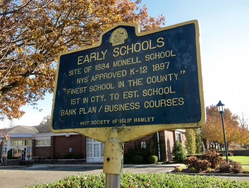 Early Schools: Monell Marker image. Click for full size.