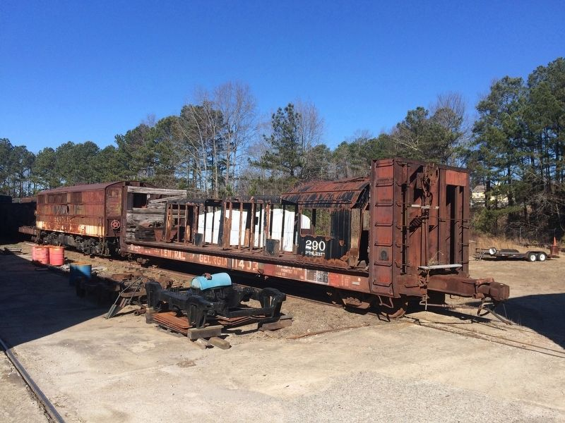 A portion of the 290 awaiting restoration at the Southeastern Railway Museum image. Click for full size.