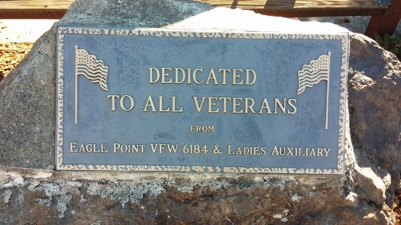 Eagle Point Veterans Memorial Marker image. Click for full size.