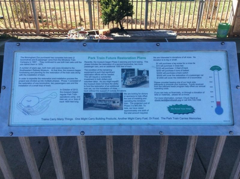 An additional, newer marker on the Park Train Future Restoration Plans image. Click for full size.