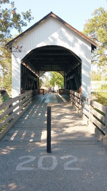 Antelope Creek Bridge image. Click for full size.