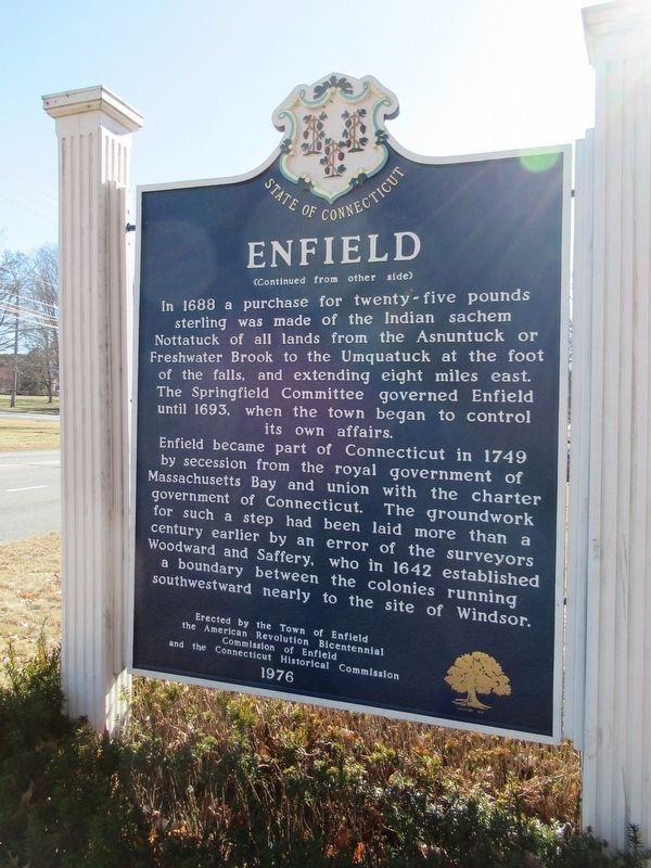 Enfield Marker image, Touch for more information