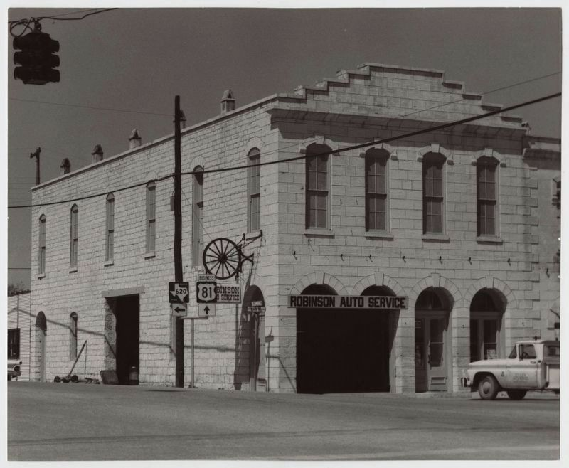Old Broom Factory Building, ca. ~1970 image. Click for full size.