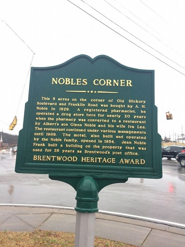 Nobles Corner Marker image. Click for full size.