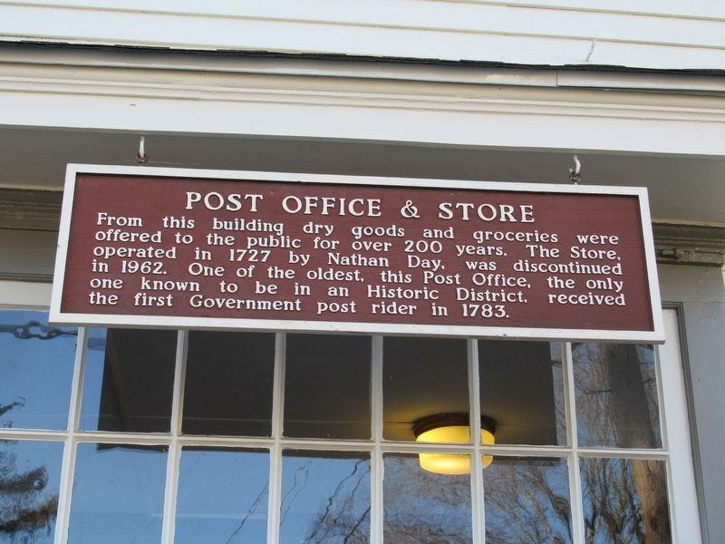 Post Office & Store Marker image. Click for full size.