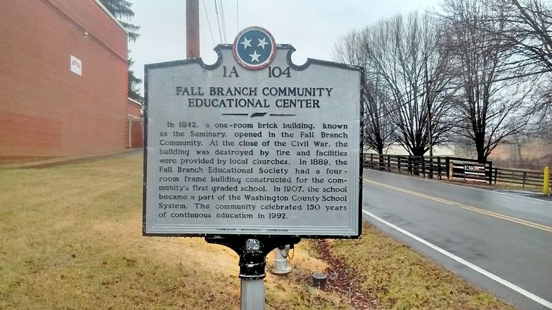 Fall Branch Community Educational Center Marker image. Click for full size.
