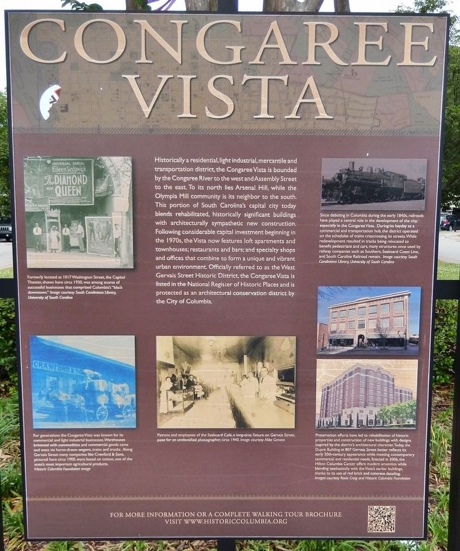 Congaree Vista Marker image. Click for full size.