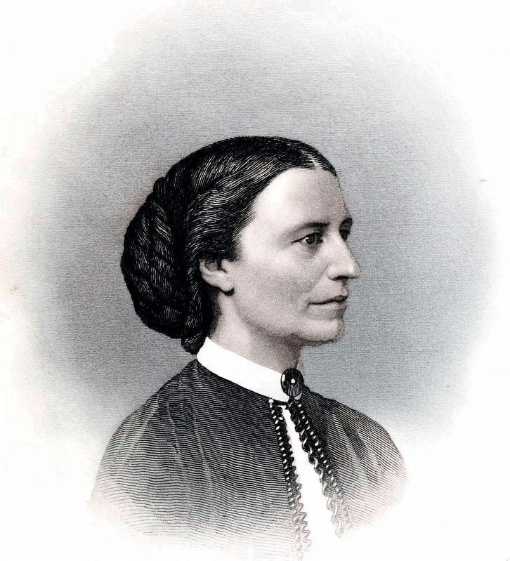 Clara Barton image. Click for full size.
