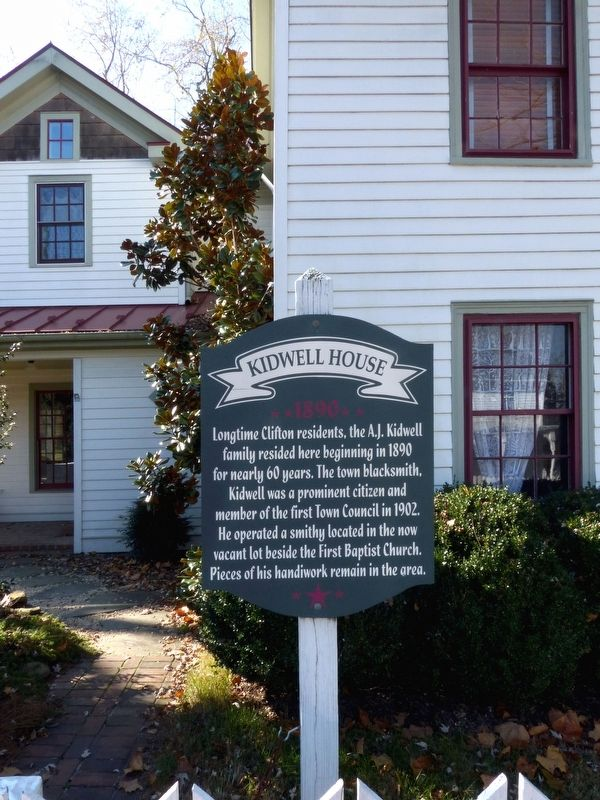 Kidwell House Marker image. Click for full size.