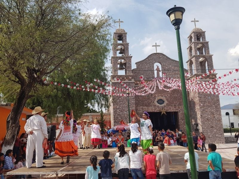 A traditional dance during Saint Philip of Jesus' feast day image. Click for full size.